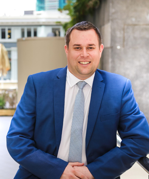 Rainey Collins Lawyer Shaun Cousins